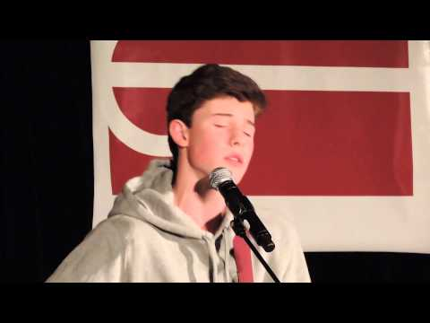 Shawn Mendes Give Me Love (Cover) - Magcon Tour, Washington DC 12/29/13