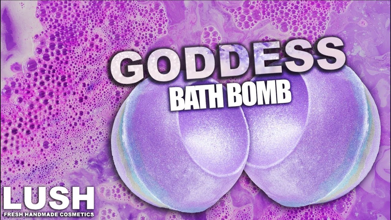 Lush Goddess Bath Bomb! (Demo/Review)