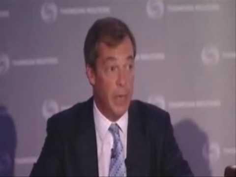 Nigel Farage debates with Dick Roche during Lisbon Treaty 2 referendum