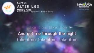 Minus One - Alter Ego (Cyprus) - [Karaoke version]