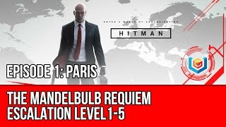 hitman the mandelbulb requiem escalation level 1 5 stealth