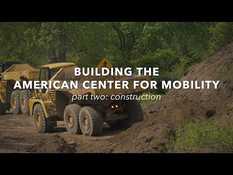 Construction Begins at ACM | American Center for Mobility | MEDC