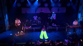 NAO live at Metro Chicago 8/23/2019