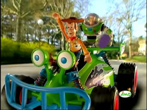 Coche rc buzz toy story en youtube - Cochon de toy story ...
