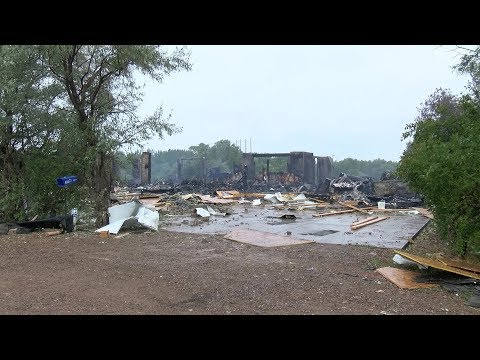 Investigation continues into Sunday's explosion and fire streaming vf