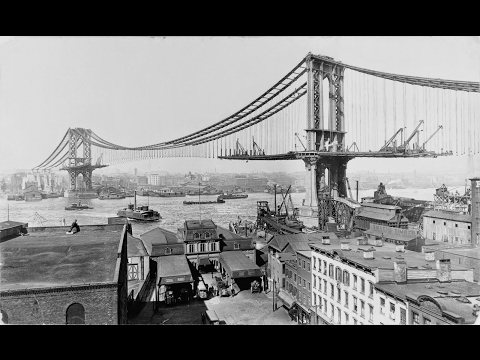 15 HISTORICAL PHOTOGRAPHS OF THE U.S ICONIC BUILDINGS AND BRIDGES
