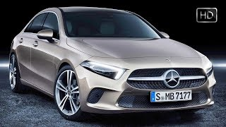 2019 Mercedes-Benz A-Class Luxury Sedan Exterior & Interior Studio Design HD