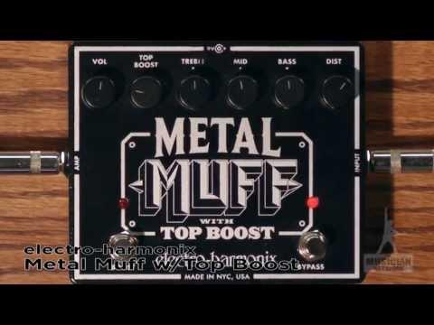 EHX Metal Muff Top Boost Distortion Guitar Pedal Review - GearUP on TMNtv !