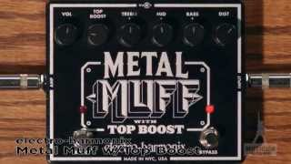 EHX Metal Muff Top Boost Distortion Guitar Pedal Review - GearUP on TMNtv !