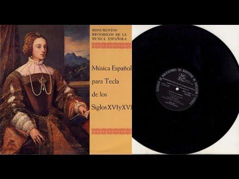 Santiago Kastner (clavichord) Música Española: de Cabezón and Arauxo