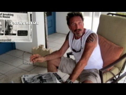 McAfee Founder Interview: John McAfee Says Belize Government Trying to 'Assassinate' Him