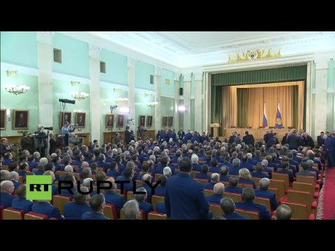 LIVE: Putin to take part in Prosecutor General Office's Boar
