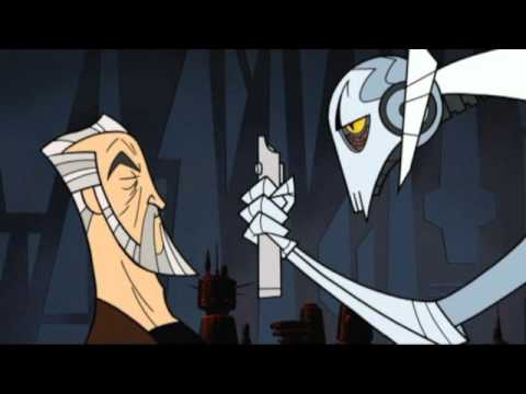 Star Wars Clone Wars 2003: 2D Greivous With 3D's Voice.