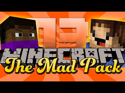 Minecraft Mad Pack 3 - SILVER FISH ARE DANGEROUS!! (Modded Minecraft)