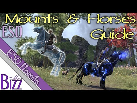 ESO Mounts Guide - Elder Scrolls Online Mount and Horse Guide - How to get a mount in ESO