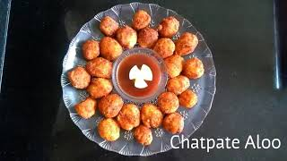 Delicious Recipes # 5   Chatpate Aloo   Party Snack   Tasty Tidbits   Quick to Serve
