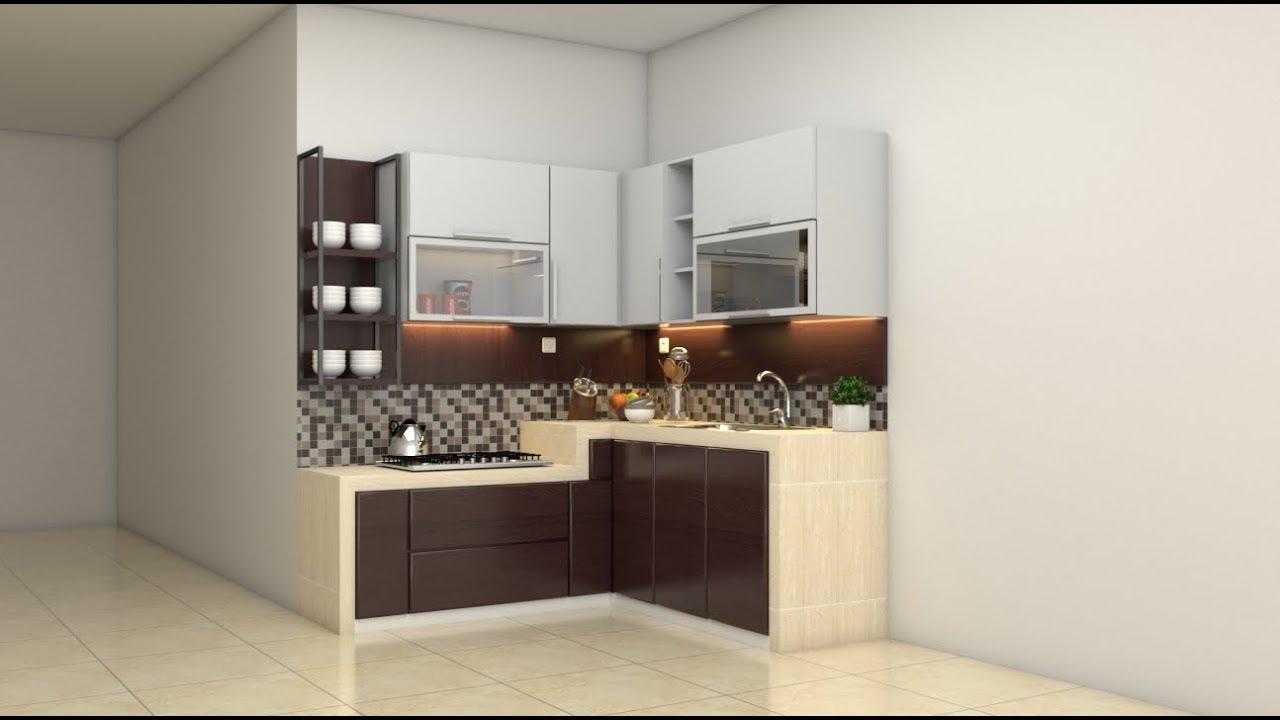 SketchUp Tutorial Membuat Kitchen Set 01   FREE 3D Model ...