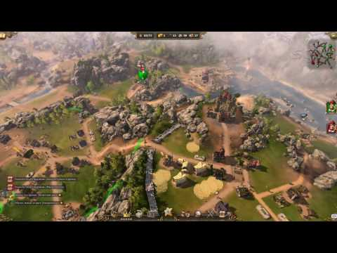 Lets Play The Settlers 7: Paths to a Kingdom (Mission 6)