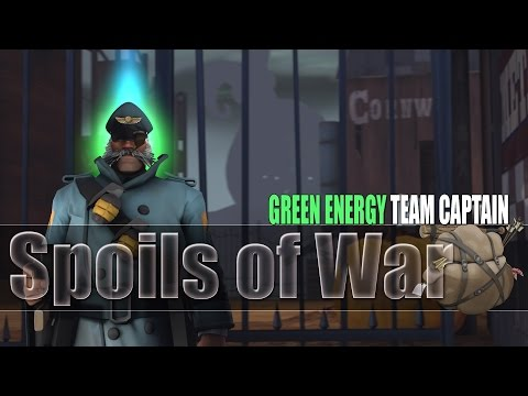 Team Fortress 2   The Spoils of War - Green Energy Team Captain