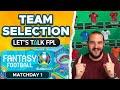 TEAM SELECTION MATCHDAY 1 | Euro 2020 Fantasy Tips