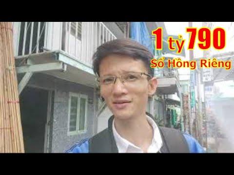 Chính chủ bán nhà Quận 8 dưới 2 tỷ Sổ Hồng Riêng, Hẻm 1438 Phạm Thế Hiển P5 Quận 8