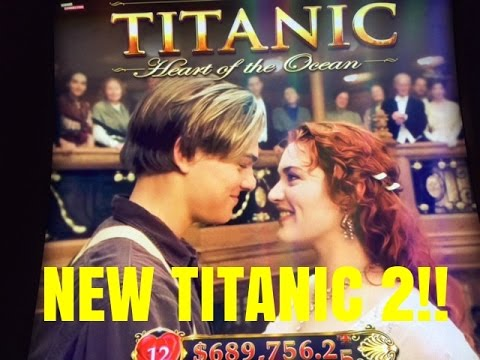 NEW!! TITANIC 2 SLOT MACHINE-LIVE PLAY-BONUSES