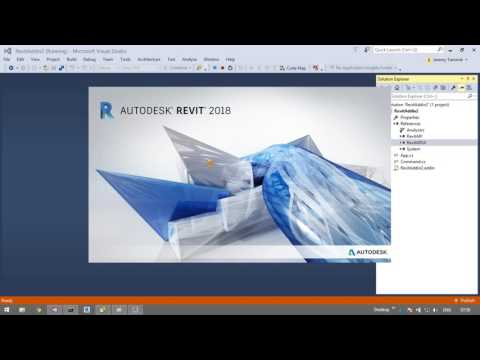 Revit 2018 C# and VB .NET Add-in Wizards