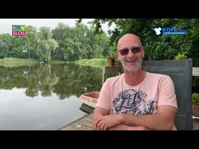 Mark Zandbergen in de uitzending van Kop d'r Veur op 17 juni 2020