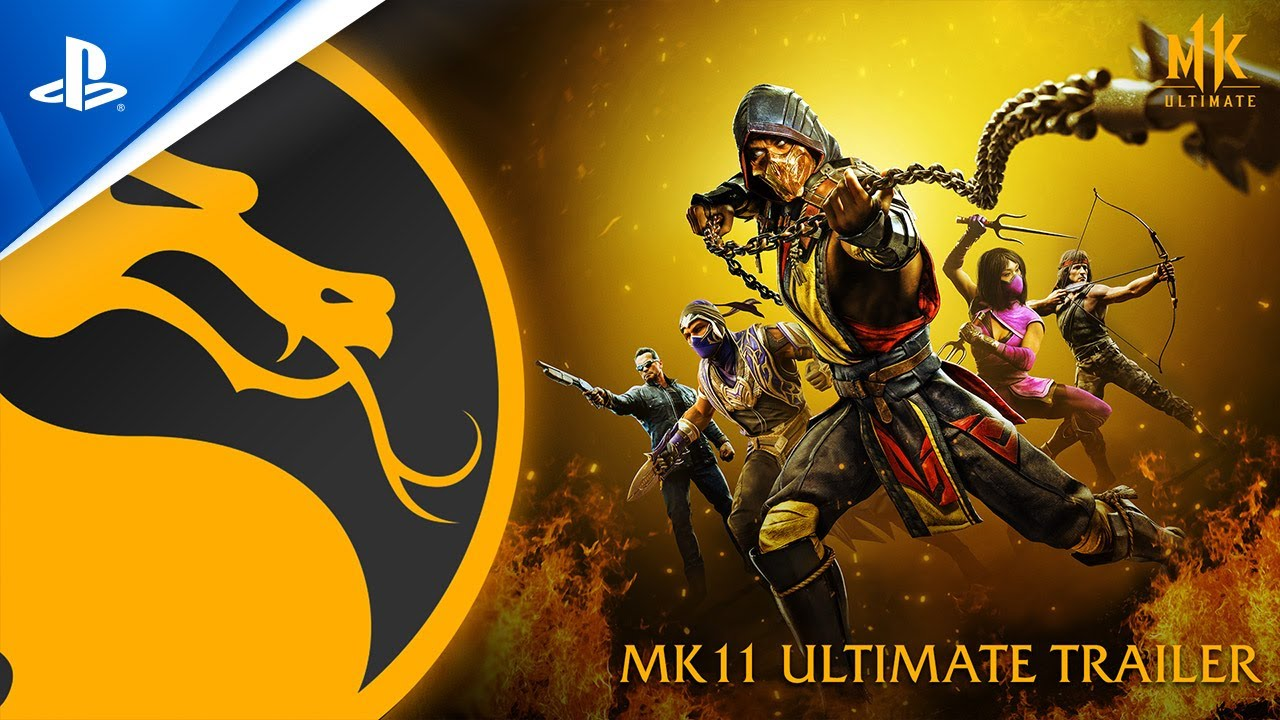 Mortal Kombat 11 Ultimate trailer di lancio
