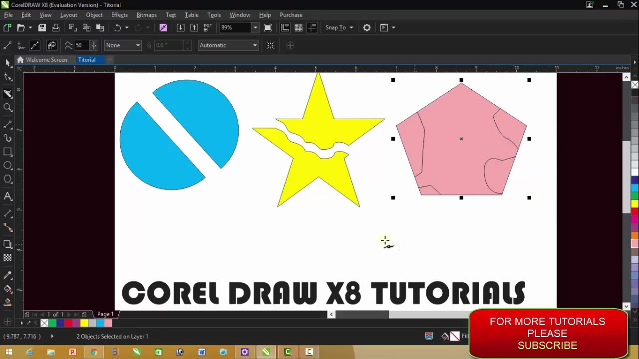 Corel draw version - Corel Draw Version 3