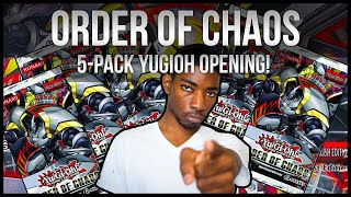 EPIC Order of Chaos 5-Pack Opening!! Yu-GI-Oh Zexal! SO MANY HOLOS!!