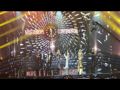 Miss Europe Continental 2019 Finale