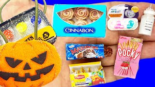 40 DIY MINIATURE FOOD, HALLOWEEN CRAFTS AND MORE REALISTIC HACKS AND CRAFTS FOR BARBIE DOLLHOUSE !!!