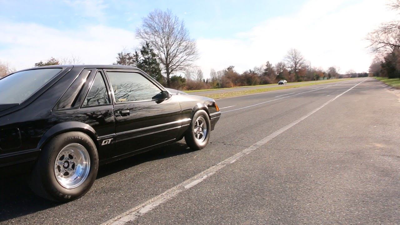 25k Take Off Fresh Grudge Car1986 Ford Mustang Gt For Sale377 1986 82 In Deck Dart Block