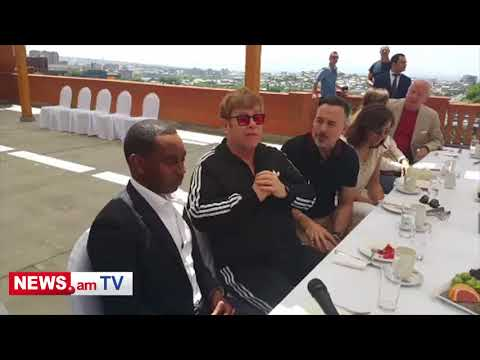 Elton John: We have a lot of Armenian friends in England and in America