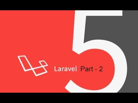 creating backend application - laravel project part 2