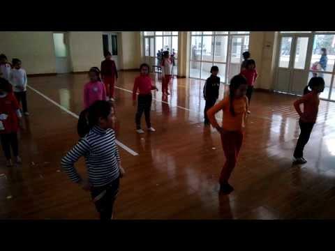 CLB Aerobic tiểu học Dịch Vọng A lớp t3.5