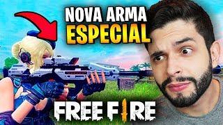 NOVAS ARMAS COM HABILIDADE!?! O FREE FIRE VAI MUDAR TOTALMENTE! (ATUALIZAÇÃO)