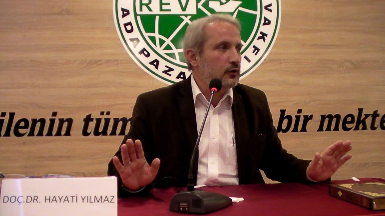 Doç. Dr. Hayati Yılmaz (24 Kasım 2017) Cuma Ribat konferans 2