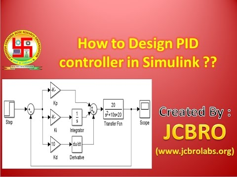 How to Design PID controller in Simulink??
