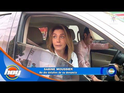 ¿Por qué fue Sabine Moussier a los juzgados?  La nota que anota  Hoy