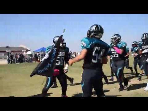 8th Grade Football: Brown Bulldogs vs Canyon Hills Cobras 2019