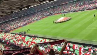 YNWA voor Feyenoord Heracles kampioenswedstrijd 14-05-2017