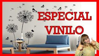 Gambar cover VINILOS DECORATIVOS PARA PARED EN SALAS, HABITACIONES, COCINAS Y BAÑOS🌈😍👌