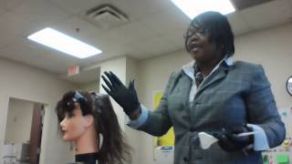 How to professionally apply a relaxer