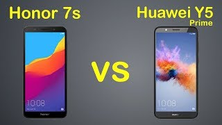 Huawei Y5 Prime 2018 vs Honor 7S | Detailed Review With Comparison
