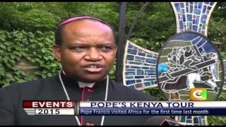 Events 2015: Pope In Kenya