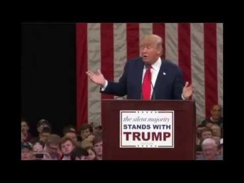 """Donald Trump on ISIS - """"I'm gonna bomb the SHIT out of 'em!"""""""