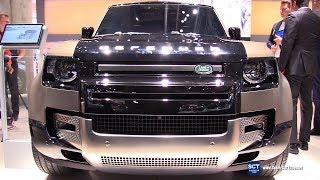 2020 Land Rover Defender 100X P400 - Exterior Interior Walkaround - 2019 IAA Frankfurt Auto Show