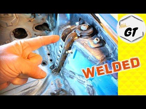 Porsche Restoration Project   Weld In Strut Bar Brace   DIY